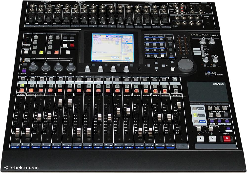 Tascam Digital Mixer Dm 24 : tascam dm24 dm 24 digital mischpul mixer digitalmischpult ebay ~ Hamham.info Haus und Dekorationen